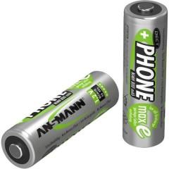 DECT maxE HR06 Batteria ricaricabile Stilo (AA) NiMH 800 mAh 1.2 V 2 pz.