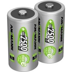 maxE HR14 Batteria ricaricabile 1/2 Torcia (C) NiMH 2500 mAh 1.2 V 2 pz.
