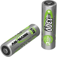 maxE HR06 Batteria ricaricabile Stilo (AA) NiMH 1300 mAh 1.2 V 4 pz.