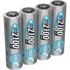 maxE HR06 Batteria ricaricabile Stilo (AA) NiMH 2100 mAh 1.2 V 4 pz.