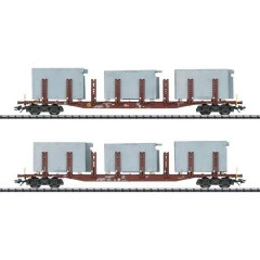Kit di 2 vagoni a stanti H0 sistemi di bagno di DB AG