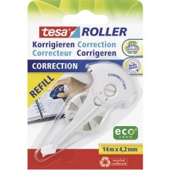 Ricarica correttore a roller ROLLER 59976 4.2 mm Bianco 14 m 1 pz.