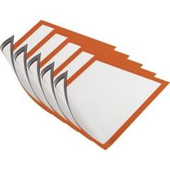 DURAFRAME MAGNETIC A4 - 4869 Cornice magnetica DIN A4 Arancione (L x A) 238 mm x 324 mm 5 pz.