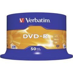 DVD-R vergine 4.7 GB 50 pz. Torre