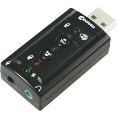 7.1 Scheda audio esterna collegamento esterno per cuffie, regolazione esterna per volume altoparlanti