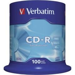 CD-R 80 vergine 700 MB 100 pz. Torre