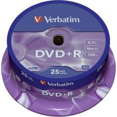 DVD+R vergine 4.7 GB 25 pz. Torre