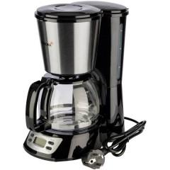 Macchina per il caffè Nero, acciaio inox Capacità tazze=6 funzione timer