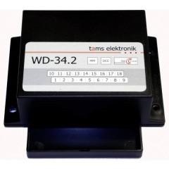 Contenitore Accessorio per decoder scambi WD-34.2