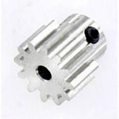 Ingranaggio in acciaio Tipo di modulo: 1.0 Ø foro: 3.2 mm Numero di denti: 12