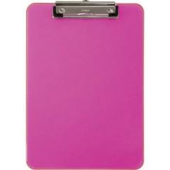 Cartellina portablocco Rosa (trasparente) (L x A x P) 226 x 318 x 15 mm