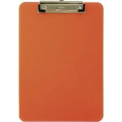 Cartellina portablocco Arancione (trasparente) (L x A x P) 226 x 318 x 15 mm