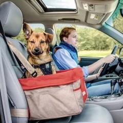 Skybox Seggiolino auto per cani Rosso, Marrone 1 pz.