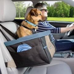 Rover Seggiolino auto per cani Nero, Blu 1 pz.