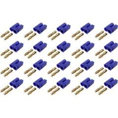 Connettore maschio per batteria EC5 dorato 20 pz.