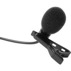 MIC LAV a clip Lavalier Microfono vocale Tipo di trasmissione:Cablato incl. morsetto, incl. protezione