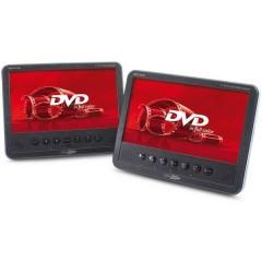 Lettore DVD per poggiatesta con 2 monitor Diagonale schermo=17.78 cm (7 pollici)