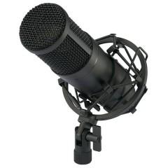 CU-4 Microfono USB da studio Cablato incl. cavo, incl. valigetta, incl. ragno