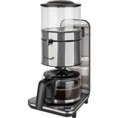Macchina per il caffè Nero, acciaio inox Capacità tazze=10 Funzione mantenimento calore, Caraffa in vetro