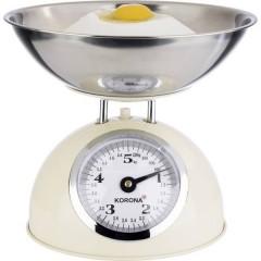 PAUL Bilancia da cucina con contenitore di misurazione Portata max.=5 kg crema