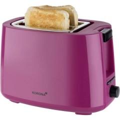 Tostapane Funzione toast, Con griglia scaldabriosche Bacca