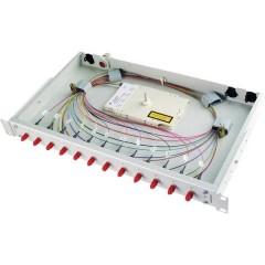 Patchpanel per fibra ottica E2000 1 U