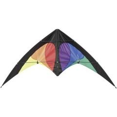 Aquilone acrobatico Bebop prisma R2F Larghezza estensione 1450 mm Intensità del vento 2 - 5 bft
