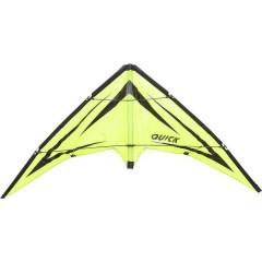 Aquilone acrobatico Quick Emerald Larghezza estensione 1150 mm Intensità del vento 2 - 5 bft