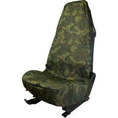 Carmouflage Coprisedile da officina 1 pezzo Poliestere Mimetico Sedile di guida