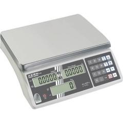 Bilancia contapezzi Portata max. 6 kg Risoluzione 0.5 g rete elettrica, a batteria ricaricabile Argento