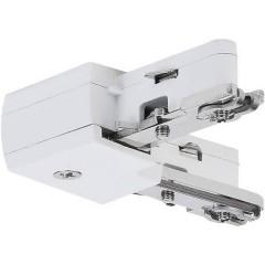 Componente per sistema su binario ad alta tensione Connettore angolare Bianco