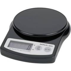 MAULalpha 500G Bilancia per lettere Portata max. 0.5 kg Risoluzione 0.1 g a batteria Nero