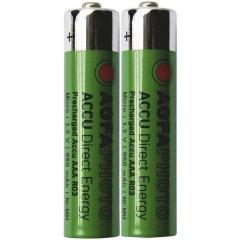 HR03 Batteria ricaricabile Ministilo (AAA) NiMH 950 mAh 1.2 V 2 pz.