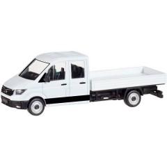 H0 MAN TGE ed è sempre disponibile doppia cabina con pianale, bianco