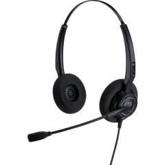 AH 12 G Cuffia telefonica Spina RJ9 Filo Cuffia On Ear Nero