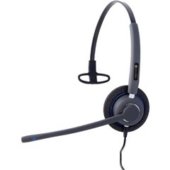AH 21 U Cuffia telefonica USB Filo Cuffia On Ear Nero