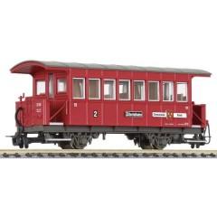 Vagone passeggeri H0e di Zillertalbahn Nella propria zona Ried