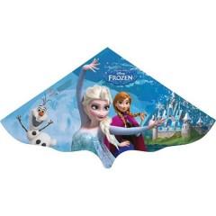 Monofilo Aquilone statico Disney Frozen Elsa Larghezza estensione 1150 mm Intensità del vento 3 - 5