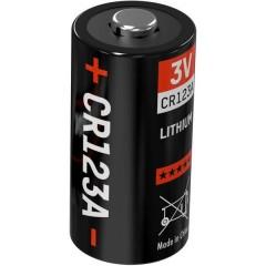 CR123 Batteria per fotocamera CR-123A Litio 1375 mAh 3 V 1 pz.
