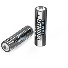 Extreme Batteria Stilo (AA) Litio 2850 mAh 1.5 V 2 pz.