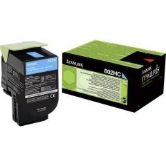 Toner 802HC CX410 CX510 Originale Ciano 3000 pagine