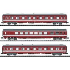 Vagone a treno rapido da 3 pezzi Le Capitole della SNCF
