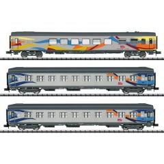 Carrello a treno rapido kit da 3 pz. Croisière di SNCF