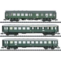 Kit di 3 vagoni passeggeri treno espresso in Donautal di DB