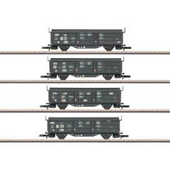 Vagone a tetto scorrevole/a parete scorrevole Tbis 871 di DB, kit da 4 pz