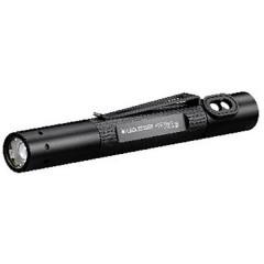 P2R Work Lampada a forma di penna Penlight a batteria ricaricabile LED (monocolore) 124 mm Nero