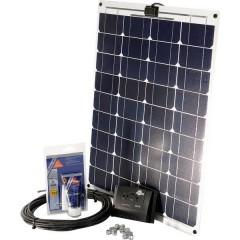 SM 50L Kit energia solare 50 Wp Regolatore di carica incl., Cavo di collegamento incl.