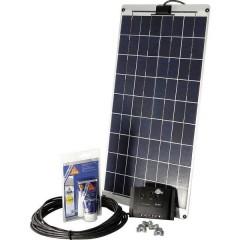 SM 30L Kit energia solare 30 Wp Regolatore di carica incl., Cavo di collegamento incl.
