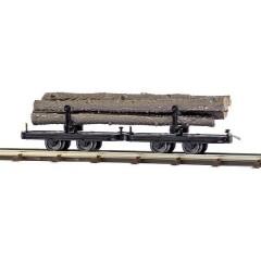 H0f carrello carro legname lungo