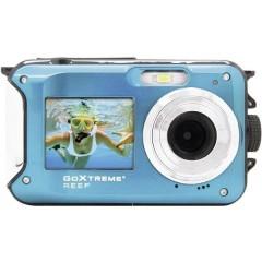 Reef Blue Fotocamera digitale 24 MPixel Blu Video Full HD, Impermeabile fino a 3m, Macchina fotografica